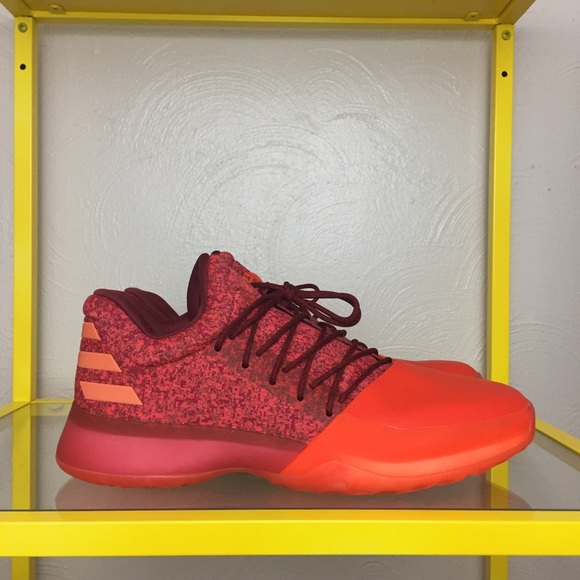 78afbc4ee613 Adidas Harden Vol. 1 Red Glare Shoes Mens 10.5 NEW